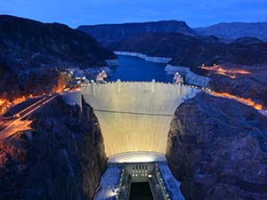 Hoover Dam (Boulder City, Nevada)